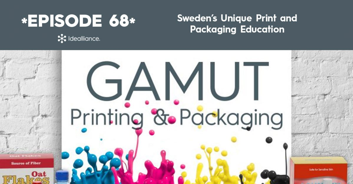 Gamut Podcast from Idealliance: Sweden's Unique Print and Packaging Education