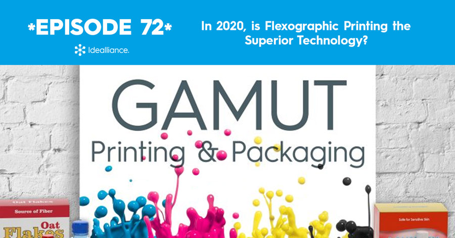GAMUT Podcast 72 from Idealliance: Flexographic Printing Technology