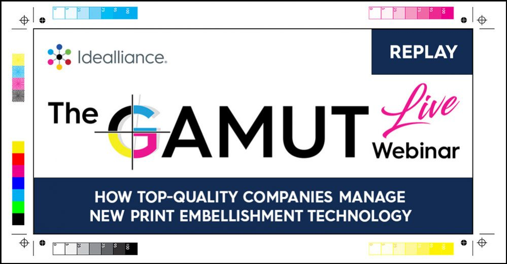 GAMUT Webinar Replay from Idealliance October 2020