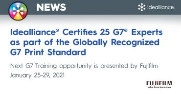 Idealliance Certifies 26 Gy® Experts as part of the Globally Recognized G7 Print Standard.