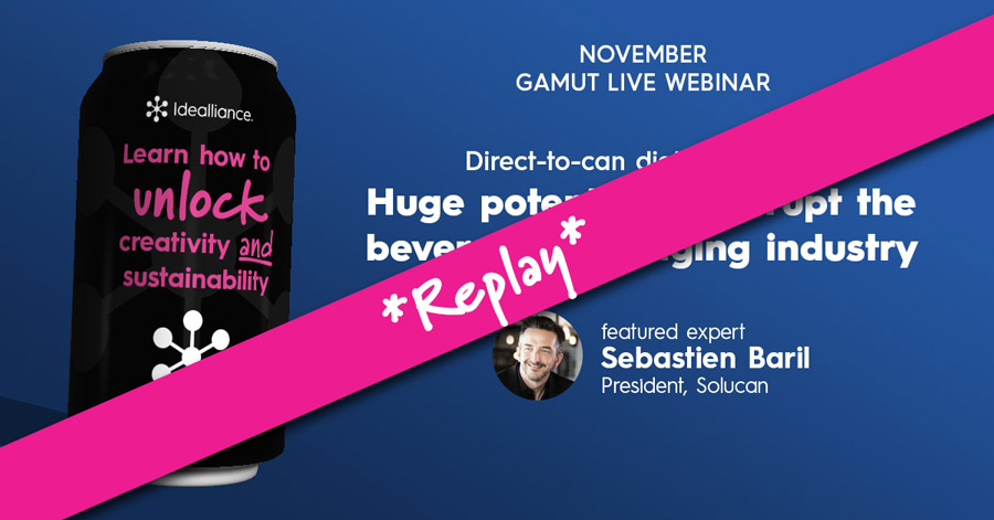 Direct to Can Printing Webinar Replay from Idealliance