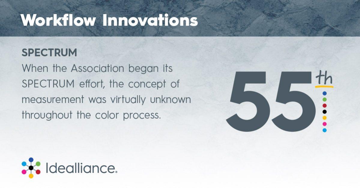 Workflow Innovations from Idealliance: Spectrum