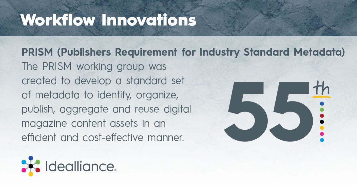 Prism Workflow Innovations from Idealliance