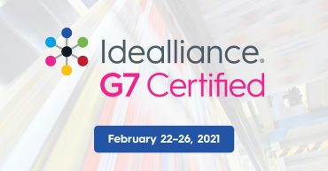 Idealliance G7® Color Management Expert Training Live Online | February 22-26, 2021