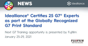 Idealliance Certifies G7 Color Management Experts