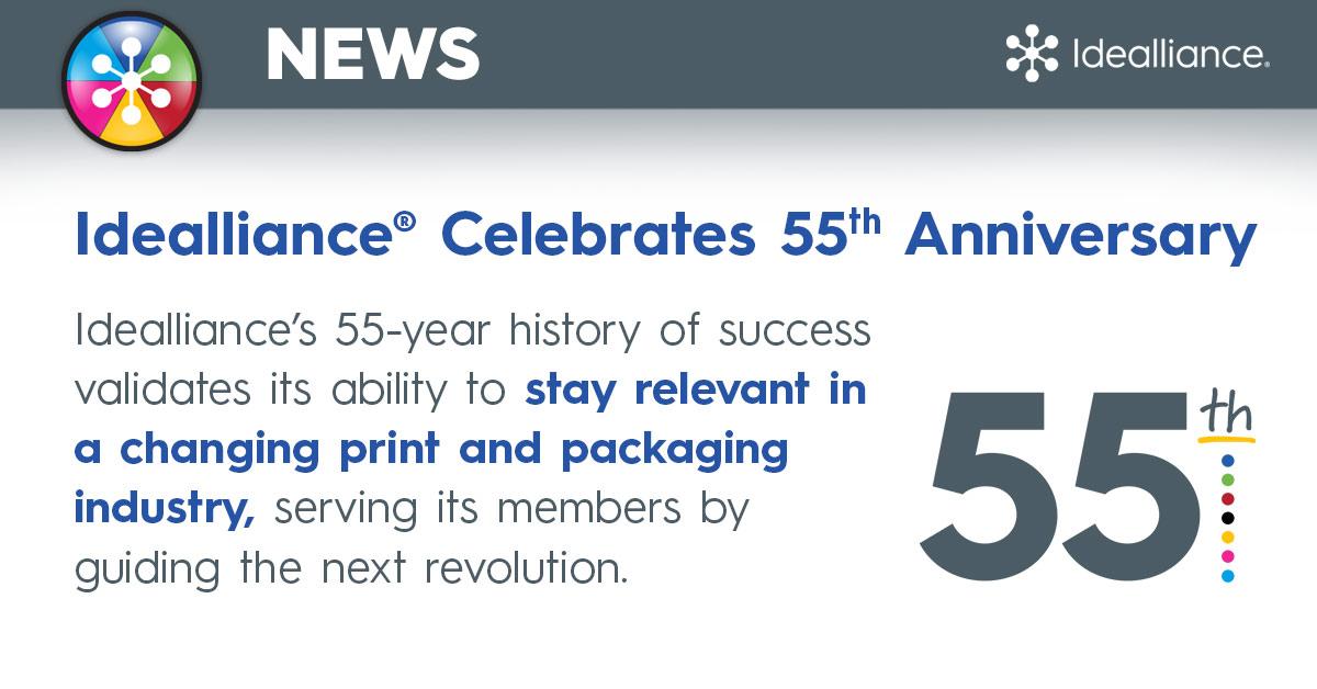 Idealliance® Celebrates 55th Anniversary