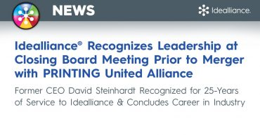 Idealliance® Recognizes Leadership at Closing Board Meeting Prior to Merger with PRINTING United Alliance