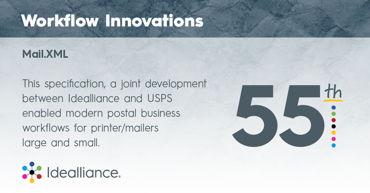 Workflow Innovations from Idealliance—Mail.XML
