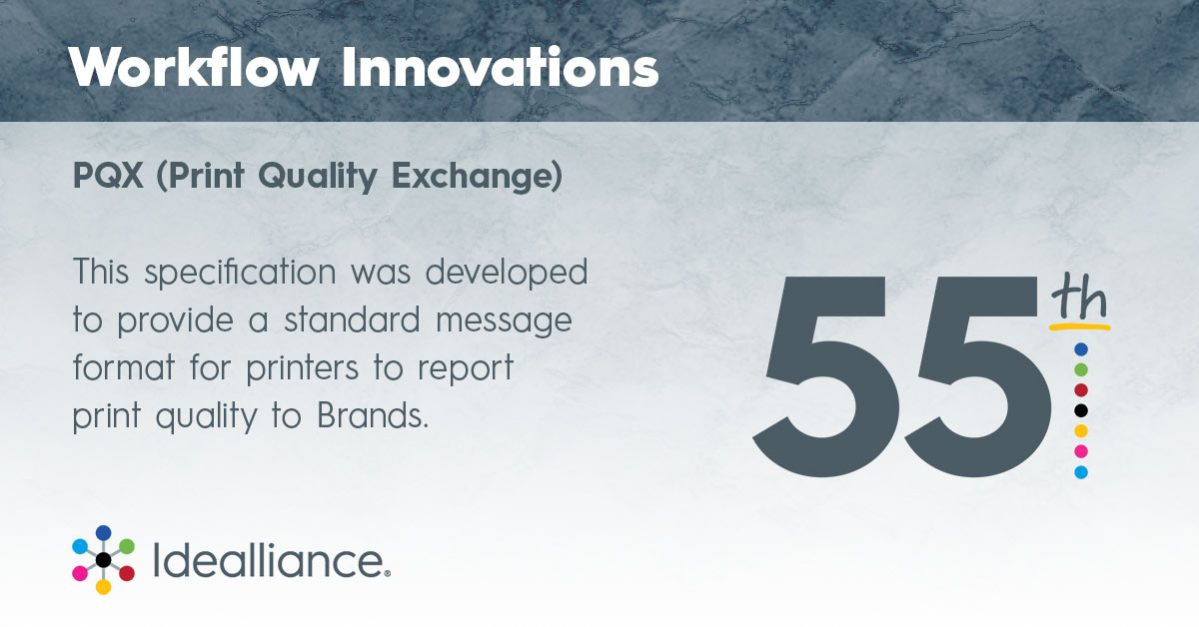 Workflow Innovations from Idealliance—PQX - Print Quality Exchange