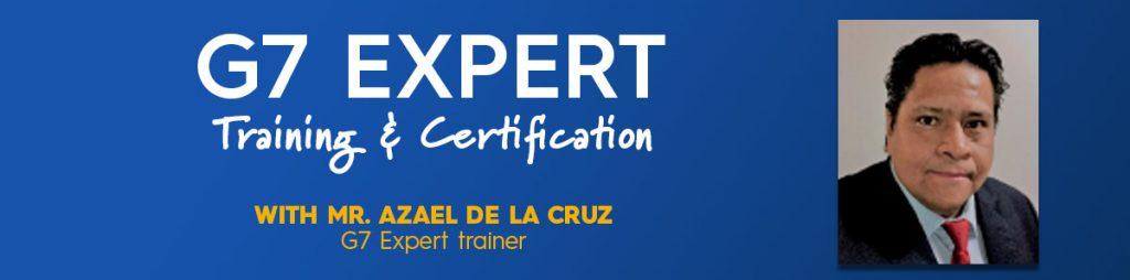 Idealliance G7® Expert Training & Certification from Mr. Azael De La Cruz, Idealliance Mexico