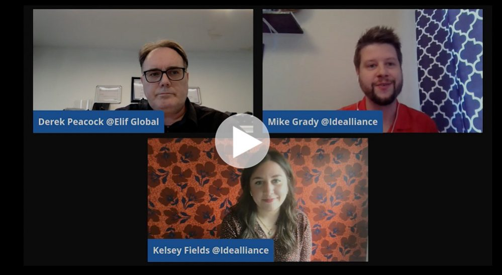 Gamut Livestream from Idealliance featuring Derek Peacock of Elif Global