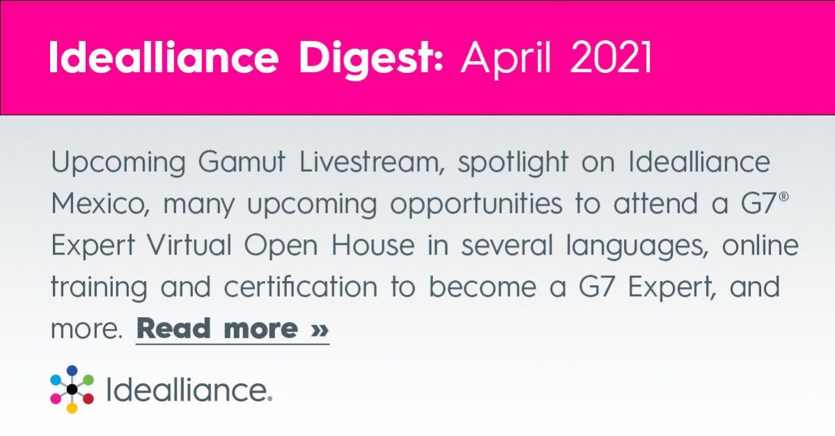 Idealliance Digest April 2021