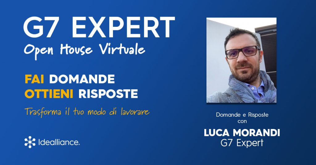 G7 Expert Virtual Open House by Idealliance with Luca Morandi, G7 Expert