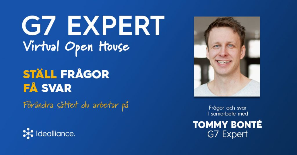 G7 Expert Virtual Open House by Idealliance with Tommy Bonté, G7 Expert