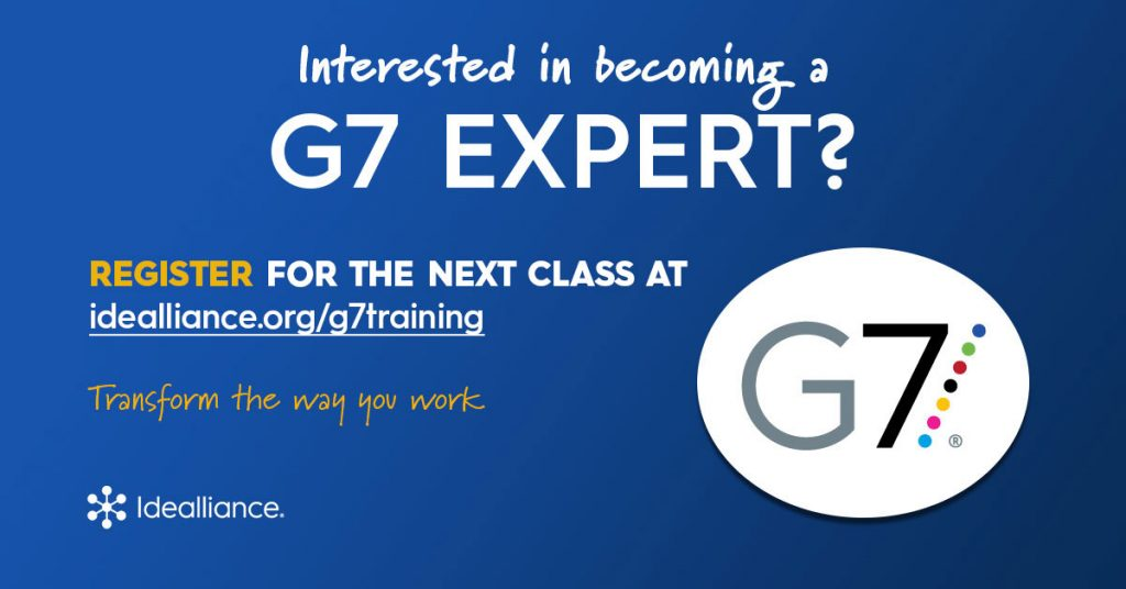 Idealliance G7 Expert Online Training and Certification by Idealliance with Certified G7 Expert Trainers