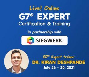 Idealliance G7 Expert Online Training and Certification by Idealliance with Kiran Deshpande, G7 Expert