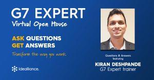 G7 Expert Virtual Open House by Idealliance with Kiran Deshpande, G7 Expert