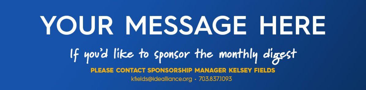 Become an Idealliance Sponsor