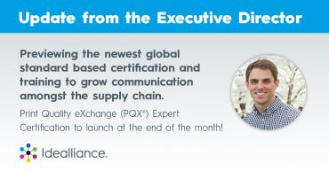 Print Quality eXchange (PQX®) Expert Certification from Idealliance