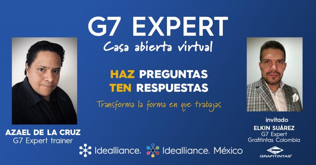 July 26 - Platica con un dos Expertos en G7 (Chat with 2 G7 Experts) With Azael De La Cruz and Elkin Suarez