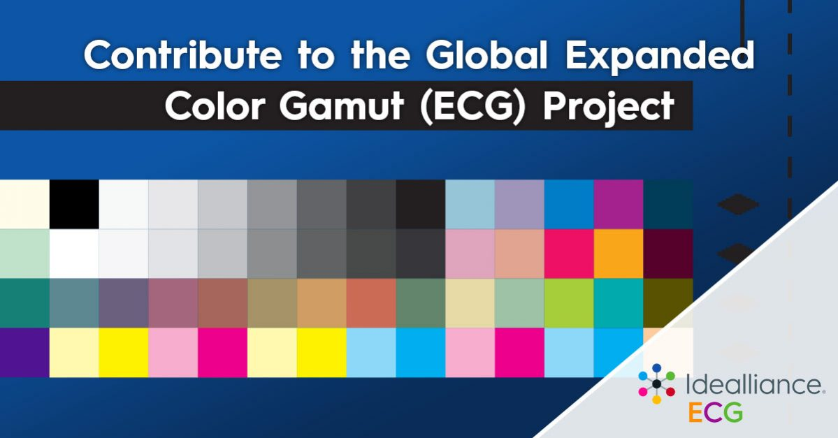 Contribute to the Global Expanded Color Gamut (ECG) Project