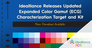 Idealliance releases updated Expanded Color Gamut (ECG) Characterization Target and Kit: