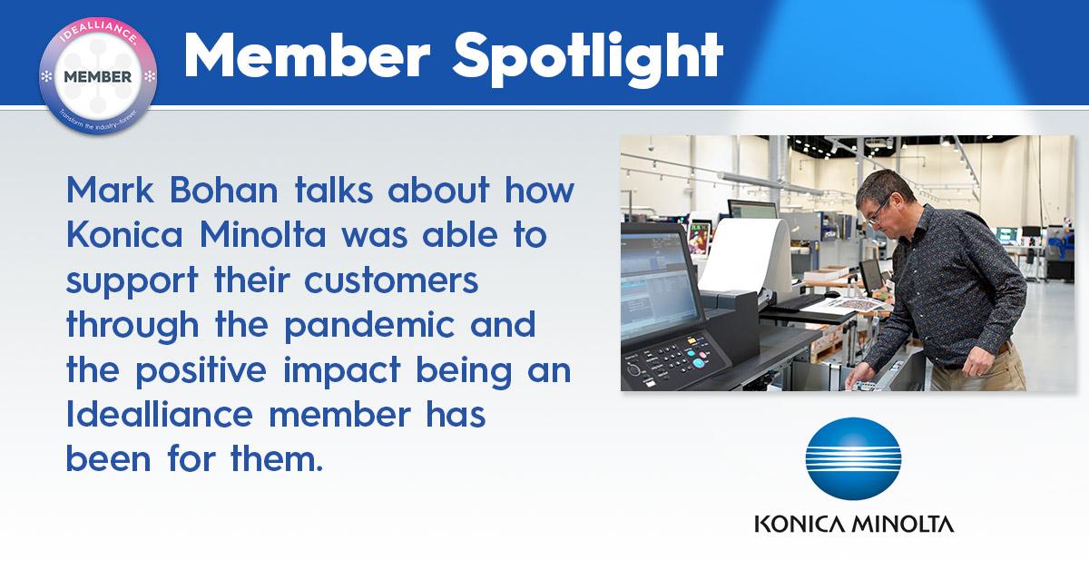 Member Spotlight Konica Minolta Oct 2021